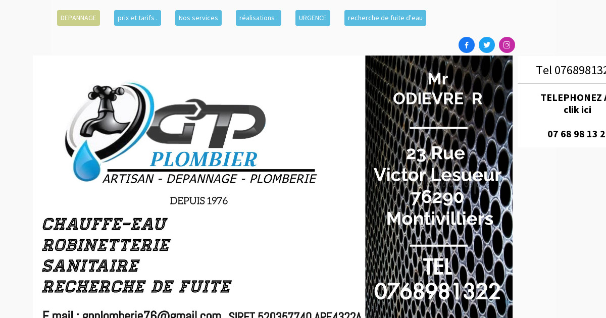 Havraise assistance plomberie 07 68 98 13 22 plombier le havre - Cabinet medical le havre ...